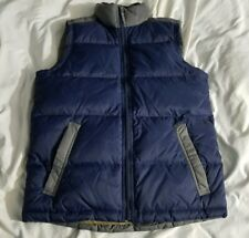 NWT Timberland Performance Goose Down Feathers BLEND Vest BLUE Men's Small