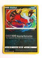 Yveltal 046/072 Shining Fates Amazing Rare Pokemon Card pack fresh