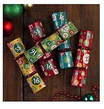 Mini Bingo Crackers: 3xpacks of 10 = 30 Crackers= 120 Games. Party, Fete, Dinner