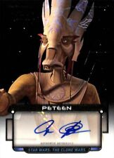 2018 Topps Star Wars Galactic Files AUTO/Autograph - CAS ANVAR as PETEEN 091/397