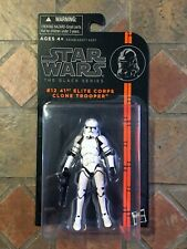 "Star Wars Black 41st Elite Corps Clone Tropper 3.75"" Figure 2013 #12 Series"
