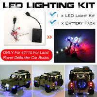 LED Light Lighting Kit ONLY For LEGO 42110 For Land Rover For Defender Car