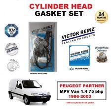 VICTOR REINZ HEAD GASKET SET for PEUGEOT PARTNER MPV Van 1.4 75 bhp 1996-2003