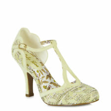 Ruby Shoo Faux Suede Slim Court Heels for Women