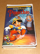 Pinocchio (VHS, 1999 Gold Collection) DISNEY 60th Anniversary NEW FACTORY SEALED