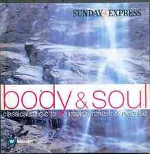 BODY & SOUL: INSPIRING CLASSICS: PROMO CD - HANDEL MOZART BEETHOVEN BACH SANZ ++