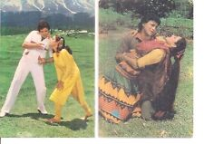 INDIA - RARE - PICTURE POST CARD BOLLYWOOD  - 5 IN LOT