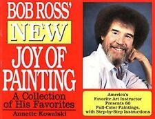 Bob Ross Book - New Joy of Painting - Annette Kowalski