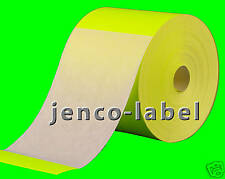 FR4600Y, 500 4x6 Yellow Fluorescent Color Code Label