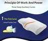 Memory Foam Sleep Pillow Contour Cervical Orthopedic Neck Support Breath Pillow