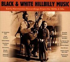 Black & white bouseux Music CD NEUF woodie Brothers/David & Howard/+