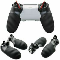 1Pair FPS Trigger Stop & Rear Handle Grip Cover for Sony PS4 Controller Slim PRO