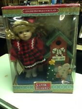 Classic Treasures Special Edition Collectible Dolls Christmas Candy Shop -NIB