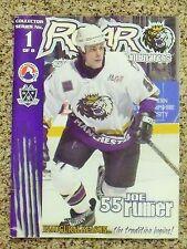2001-02 Manchester Monarchs 1st Ahl season Joe Rullier cover [La Kings] program