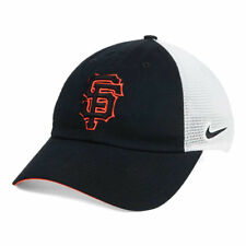 save off 87565 4c89f San Francisco Giants Nike MLB Dri-Fit Mesh Swoosh Adjustable Baseball Cap  Hat SF