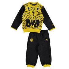 Camisetas de fútbol de clubes internacionales para niños grises