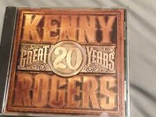 Kenny Rogers - 20 Great Years CD ORIGINAL ISSUE
