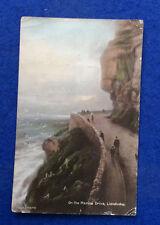 Vintage colour postcard: Caernarvonshire, Llandudno, Marine Drive