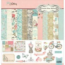 Scrapbooking Crafts PhotoPlay 12X12 Paper Pack French Flea Market Vintage Floral