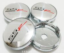 NEW 4PCS Silver SSR Wheel Center Cap Hub Cover SS Emblem 60MM