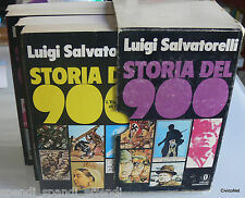 LUIGI SALVATORELLI STORIA DEL NOVECENTO MONDADORI 1971 (4 VOLUMI )