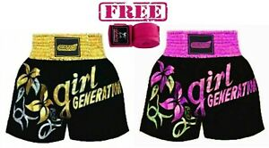 EVO Muay Thai Ladies Shorts Girls MMA Kick Boxing Martial Art Women Fight Gear H