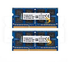 Kingston 16G 2x 8GB DDR3 1333mhz 2RX8 PC3-10600S test Memoria Ram Para Computadora Portátil SO-DIMM