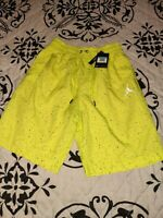 NEW Nike Air Jordan Jumpman Cement Poolside Shorts Swim Trunks CI9133-345 Medium