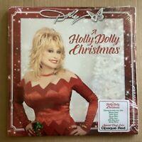 "Dolly Parton ""A Holly Dolly Christmas"" RED Vinyl LP"
