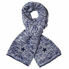 Dallas Cowboys Scarf Knit Winter Neck - Team Logo Warm Soft New Peak
