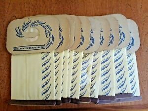 10 ORIGINAL Electrolux Canister Vacuum Cleaner Bags Tank Style C Bag 4 Ply