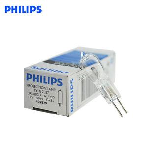 2pcs PHILIPS bulb halogen lamp 7023/7027 12V50W / 100W GY6.35 equipment bulb