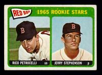 1965 Topps #74 Rico Petrocelli & Stephenson rookies / Boston Red Sox / NM cond