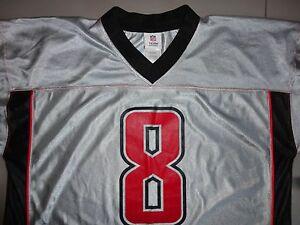Silver Houston Texans NFL Matt Schaub #8 Screen Jersey Adult XL NICE Free US SHP