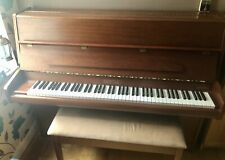 More details for 1985 bentley upright piano with double piano stool full of music