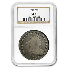1799 Draped Bust Dollar VG-8 NGC - SKU#118358