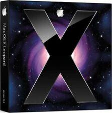 Apple Mac OS X v10.5 Leopard Retail Vollversion / deutsch / DVD Retail Box