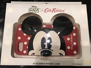 Cath Kidston Disney Mickey Mouse iPhone 7 Rubber Phone Case BRAND NEW