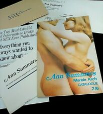 More details for fabulous early 1970's ann summers marble arch catalogue & attachments/signature