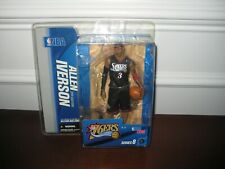 MCFARLANE NBA 8 ALLEN IVERSON  BLACK JERSEY DOUBLE CHASE VARIANT 76'ERS RARE SEE