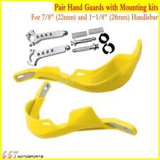 Acerbis Uniko Handguards Yellow Universal Mount Kit RM RMZ DRZ 125 250 400 450