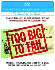 TOO BIG TO FAIL (2011 James Woods, William Hurt) -   Blu Ray - Region free