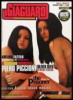 Il GIAGUARO Magazine #3 Munari PIERO PICCIONI Rambaldi PLAYMEN Jazz THE PRISONER