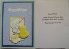 Unbranded Blue Handcrafted Cards