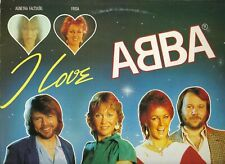 ABBA FRIDA AGNETHA FALTSKOG I LOVE ABBA LP33TOURS 14TITRES PORT A PRIX COUTANT