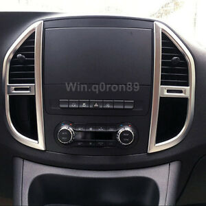 For Mercedes-Benz Vito W447 2014-2021 Matte Console Air Vent Outlet Cover Trim