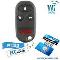 Car Key Fob Keyless Entry Remote 4Btn For  2000 2001  Honda Accord