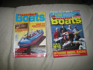 24 issues of Model Boats magazine