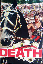 DEATH ON THE ARENA Maciste brochure 1962 Mark Forest Scilla Gabel Michele Lupo