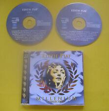 """2 CDs """" EDITH PIAF - MILLENIUM COLLECTION """" BEST OF / 36 LIEDER (RESTE)"""